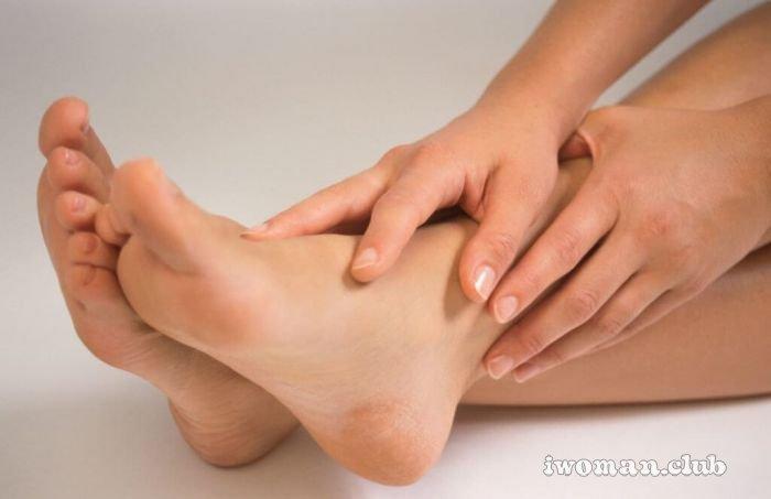 Ощущение отека ноги